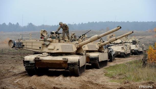 Американская армия начала перебрасывать технику в страны Европы