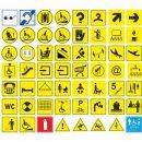 Выбор и размещение тактильных знаков