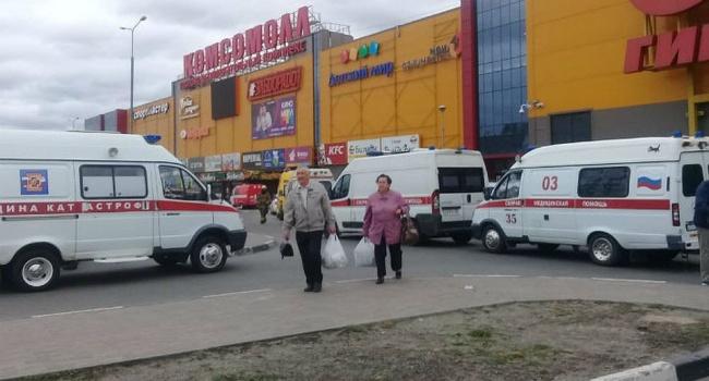 «Это просто кошмар»: в Росии восемь школьников пострадали из-за нового ЧП в ТРЦ