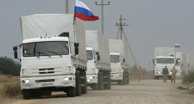 ОБСЕ: под видом гуманитарного конвоя, РФ завезла на Донбасс что-то военное
