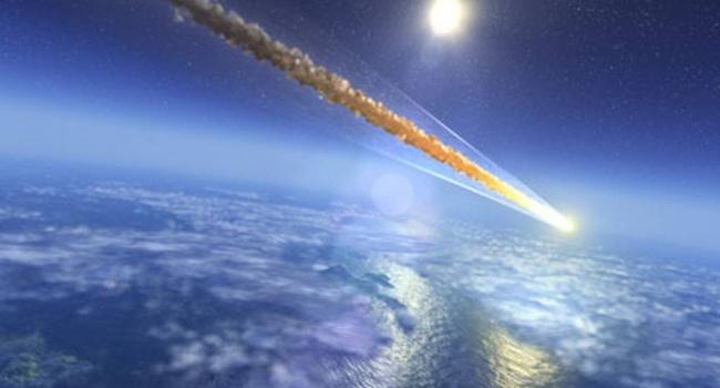 В Китае упал метеорит, — видео