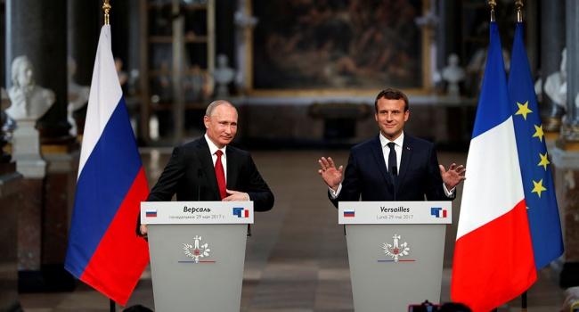 Это было унижением: политолог пояснил, как Путин мощно ударил по Западу при помощи Макрона