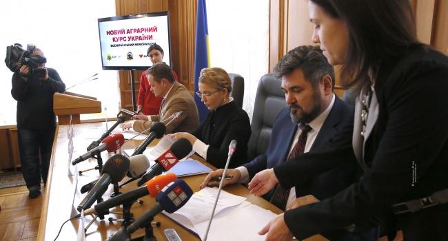 Вопреки решения ЕСПЧ: Тимошенко предлагает «Новый аграрный курс», согласно которому будет «защищать землю от продаж»