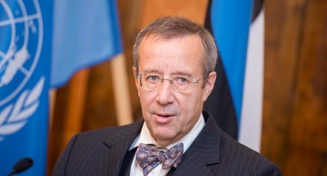 Ильвес:  Если Россия нападет на Эстонию, то может потерять Санкт-Петербург