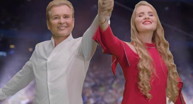 «Как Леня Голубков»: в сети высмеяли позорный клип Малинина и его дочери к ЧМ – 2018