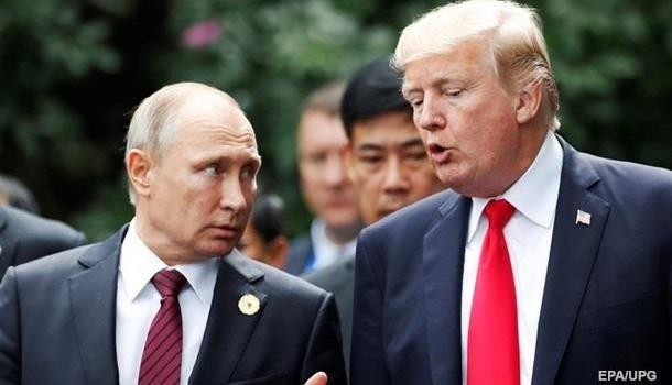 Путин заявил, что Трамп выполняет свои обещания