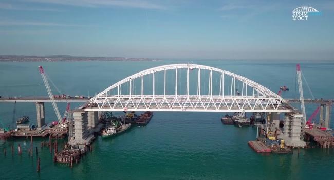 У Порошенко озвучили, какую цель преследовала РФ при строительстве Керченского моста