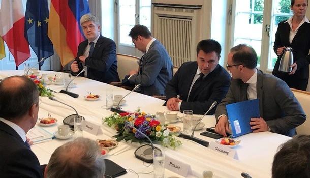 В Германии стартовали переговоры глав МИД стран «нормандской четверки»