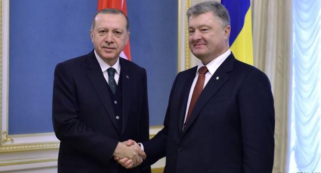 Переговоры Порошенко и Эрдогана: подробности встречи президентов