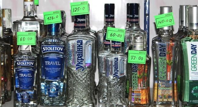 В Украине вырастет цена на алкогольные напитки