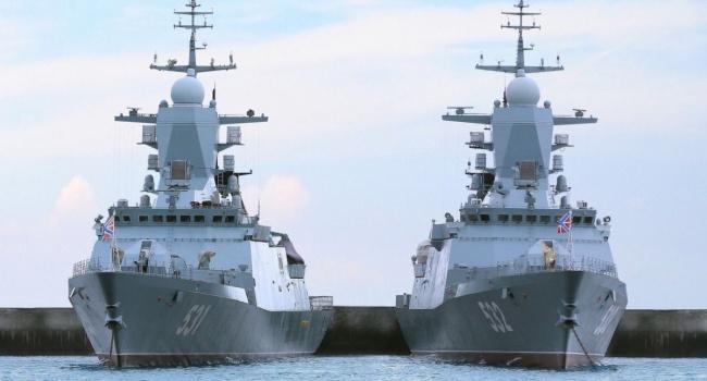Российский флот приведен в полную боевую готовность: в СНБО ответили