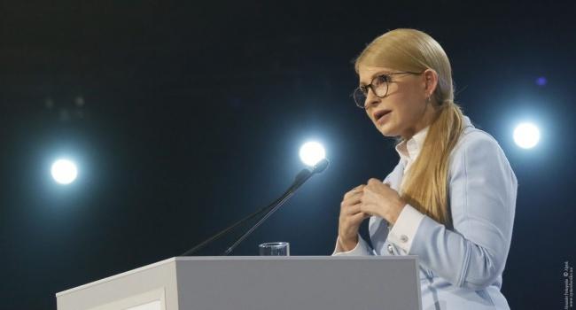 Тимошенко публично заявила, что хочет стать для Украины «новой Ангелой Меркель»