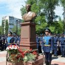 В Воронеже открыли памятник интернационал-террористу из российского контингента, убитому в начале февраля в Сирии
