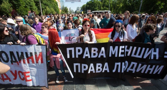 Марш равенства в Киеве: центр столицы перекрыла Нацгвардия, на Майдан протестуют верующие
