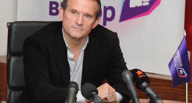 «НьюсВан» – один из трех телеканалов в Украине, которые теперь принадлежат Медведчуку