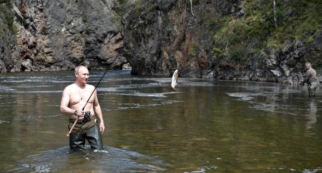 Комаровский: если бы только стал президентом, на следующий же день поехал бы с Путиным на рыбалку