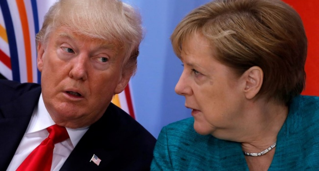 Корреспондент: Трамп продолжает зажигать огни, и теперь он набросился на Меркель