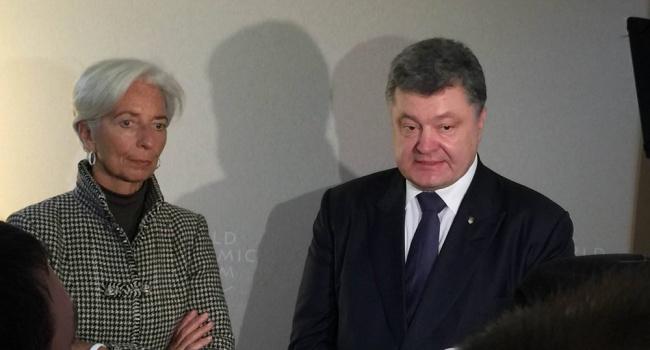 Встреча Лагард - Порошенко: директор МВФ рассказала, что срочно нужно сделать Украине
