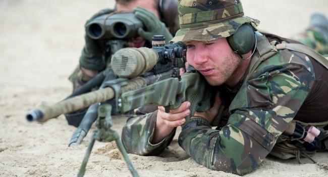 Снайпер ВСУ ликвидировал пулеметчика боевиков точным выстрелом, — волонтер
