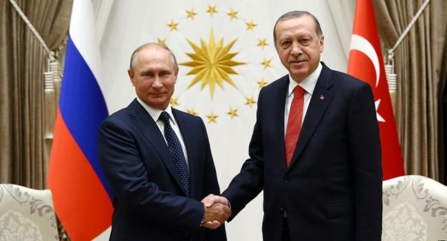 Эрдоган отличился комплиментом в адрес Путина
