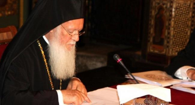 УПЦ  МП в Стамбуле обсуждает с Варфоломеем предоставление томоса Украинской православной церкви