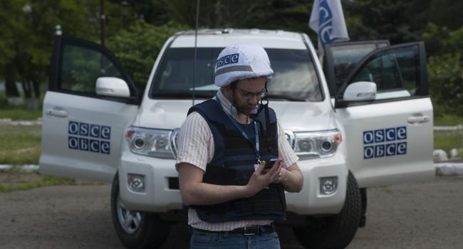«Дорога ада»: террористы заставили наблюдателей ОБСЕ ехать по заминированному участку