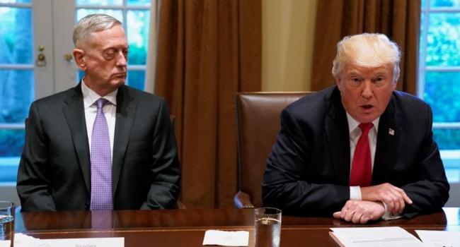 Трамп обозлился на главу Пентагона
