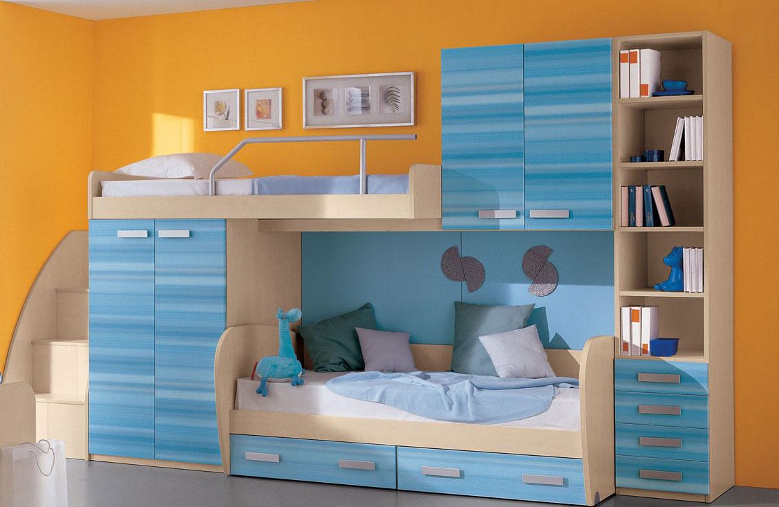 Как выбрать двухъярусную кровать в детскую комнату?