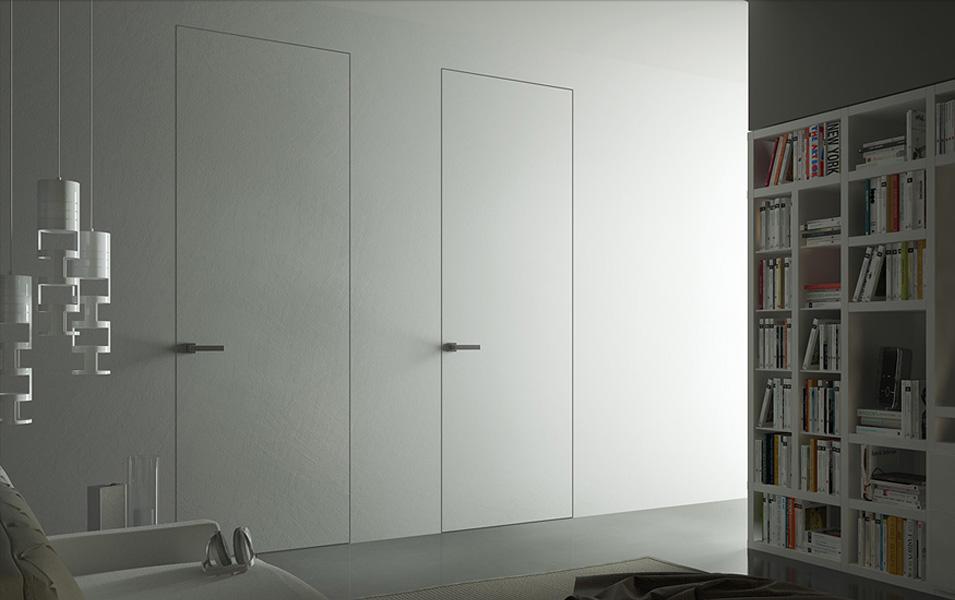 Скрытые двери – современно и оригинально