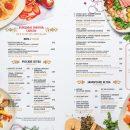 Дизайн и печать меню для ресторана