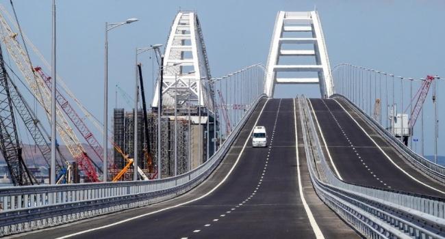 Британские власти ввели санкции против компаний, участвующих в строительстве Крымского моста