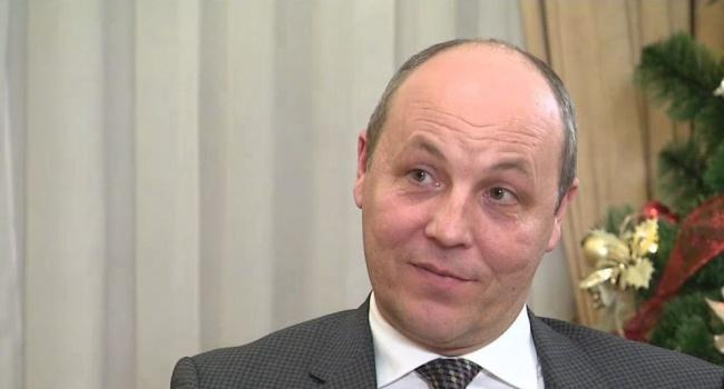 Парубий рассказал о сроке действия закона о статусе Донбасса