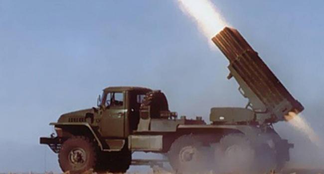 Боевики обстреляли украинские позиции из «Градов»
