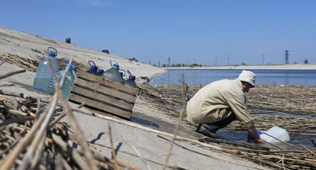 «Признание факта»: Гримчак назвал условие подачи воды в аннексированный Крым