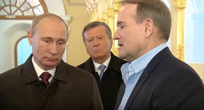 Путин подготовил для своего кума еще один козырь: Медведчук заявил, что Сенцов вернется в Украину