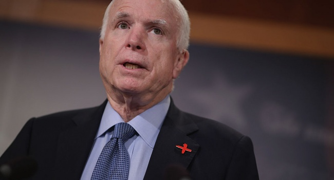 Ушел в мир иной большой друг Украины – Джон Маккейн