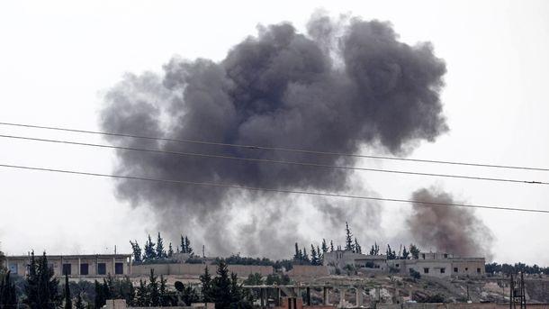 Россия обвинила США в применении в Сирии фосфорных бомб, в Пентагоне это отрицают