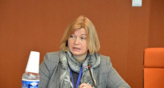 Геращенко жестко ответила на упреки Пескова по заключенным