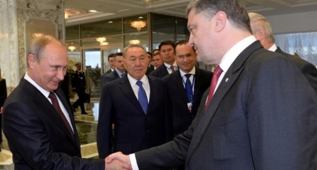 Путин будет поддерживать Порошенко на выборах и поможет ему выполнить 5 основных задач – основная из которых – вступление Украины в НАТО