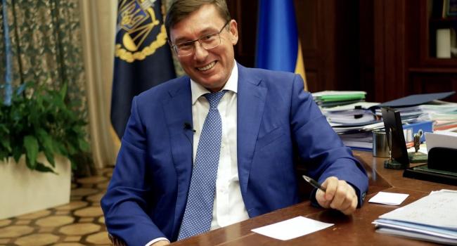 Глава ГПУ Юрий Луценко отказался участвовать в избирательном штабе Порошенко