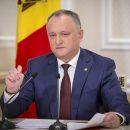 Президент Молдовы временно отстранен от должности
