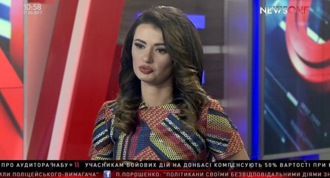 Ведущую «NewsOne» Диану Панченко до сих пор коробит от украинского языка – вылила на Ницой новую порцию «помоев»