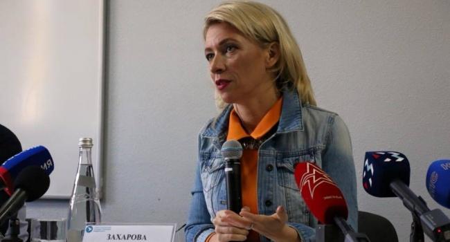 «Машка себе наваяла брежневские брови»: в сети разнесли пропагандистку Захарову за ее новый имидж