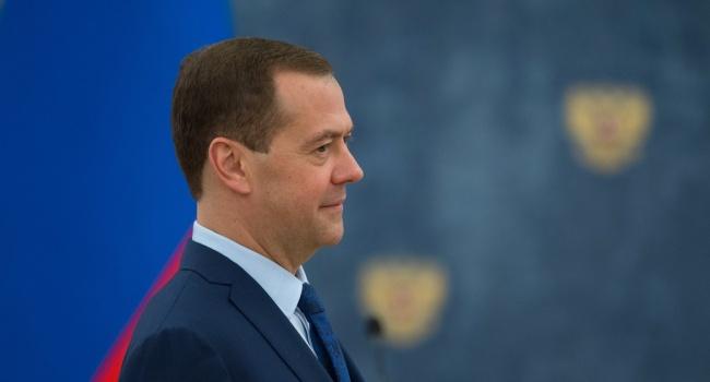 Медведев анонсировал мощные контрсанкции против Украины