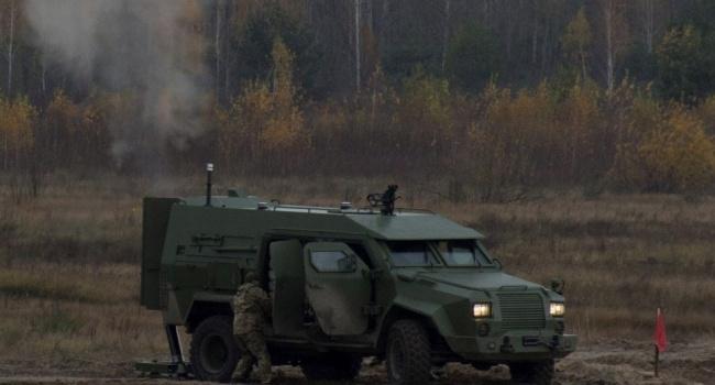 СНБО обнародовал видео испытаний нового украинского комплекса «Барс-8ММК»