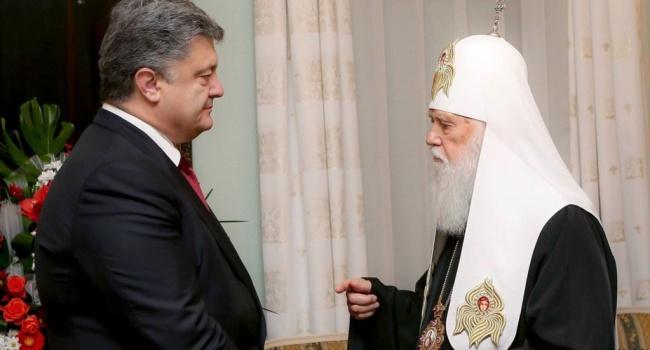 В России в сотый раз назвали Порошенко – главным злом, жертвой которого стал Филарет