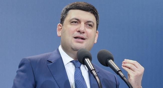 Гройсман недоволен «показухой» в борьбе с коррупцией в Украине