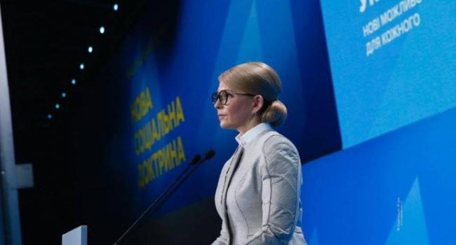 Тимошенко заявила, что не видит ничего плохого в популизме