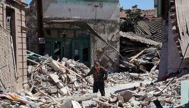 На границе Ирака и Ирана произошло сильное землетрясение. Есть пострадавшие