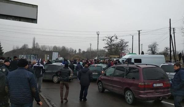 «Евробляхеров» ожидает наказание за блокирование украинской границы